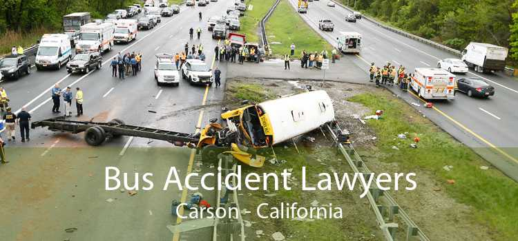 Bus Accident Lawyers Carson - California