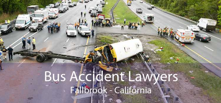 Bus Accident Lawyers Fallbrook - California