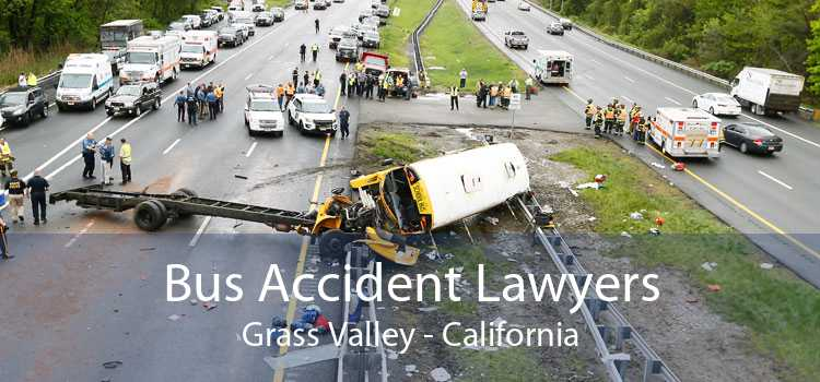 Bus Accident Lawyers Grass Valley - California