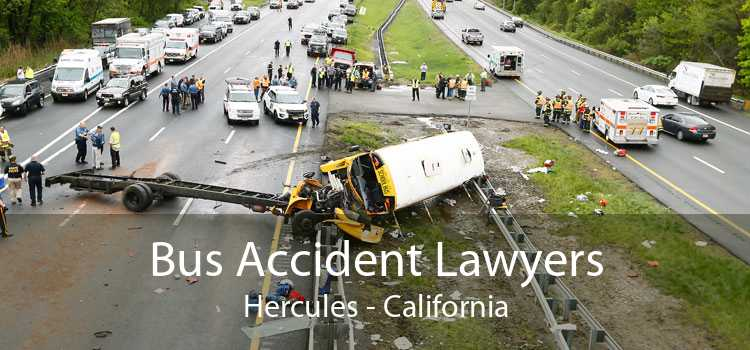 Bus Accident Lawyers Hercules - California