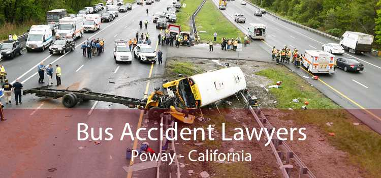 Bus Accident Lawyers Poway - California
