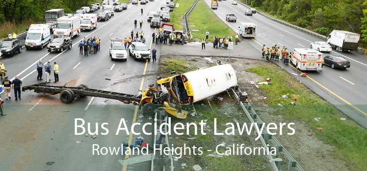 Bus Accident Lawyers Rowland Heights - California