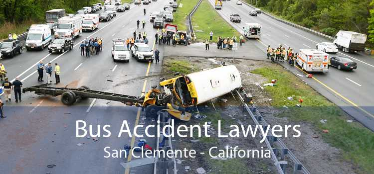 Bus Accident Lawyers San Clemente - California