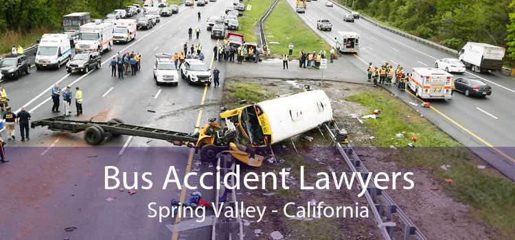 Bus Accident Lawyers Spring Valley - California