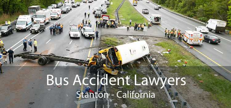 Bus Accident Lawyers Stanton - California