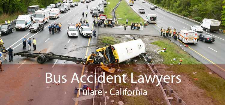 Bus Accident Lawyers Tulare - California