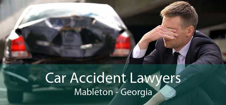 Car Accident Lawyers Mableton - Georgia