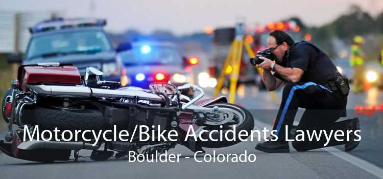 Motorcycle/Bike Accidents Lawyers Boulder - Colorado