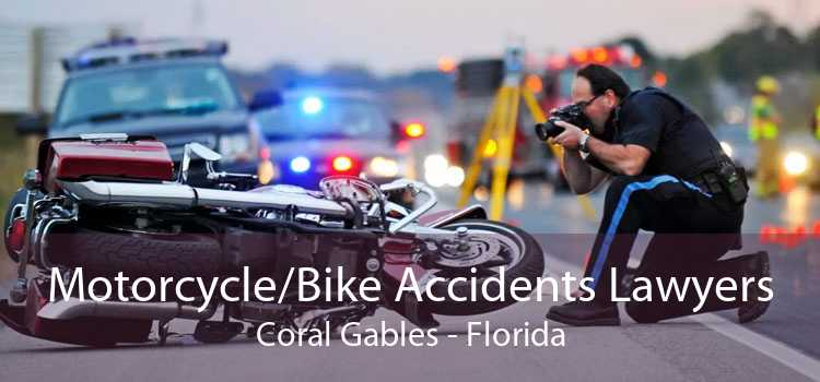 Motorcycle/Bike Accidents Lawyers Coral Gables - Florida