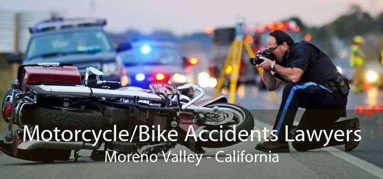 Motorcycle/Bike Accidents Lawyers Moreno Valley - California