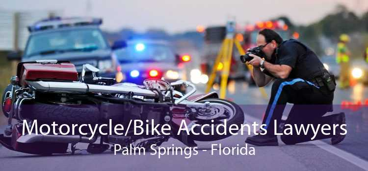 Motorcycle/Bike Accidents Lawyers Palm Springs - Florida