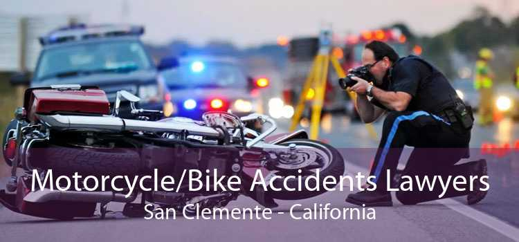 Motorcycle/Bike Accidents Lawyers San Clemente - California