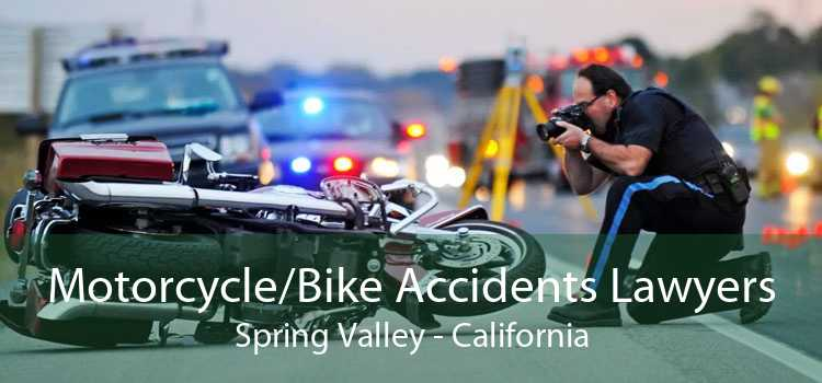 Motorcycle/Bike Accidents Lawyers Spring Valley - California