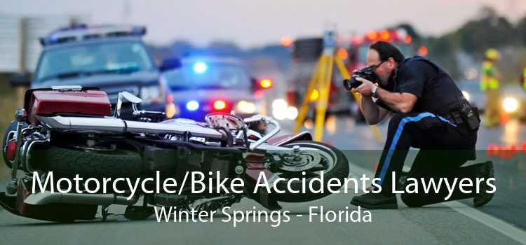 Motorcycle/Bike Accidents Lawyers Winter Springs - Florida